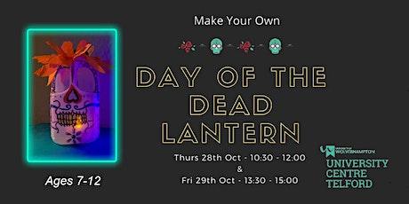 Day of Dead Milk Bottle Lanterns workshop tickets