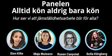 Panel: Alltid kön aldrig bara kön tickets