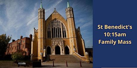 Sunday 17th October 10:15 Family Mass tickets