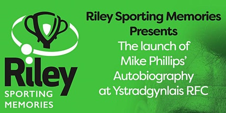 Mike Phillips Book Launch at Ystradgynlais RFC - Q&A with Rupert Moon tickets