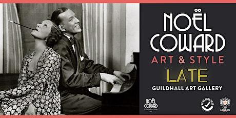 Noël Coward Gallery Late tickets