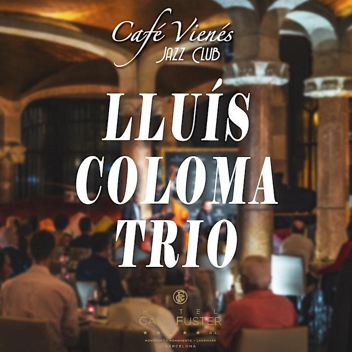 Imagen de Jazz en directo: LLUÍS COLOMA TRIO