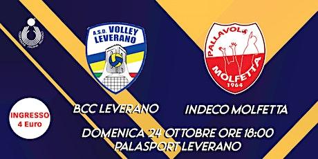 BCC Leverano vs Indeco Molfetta biglietti