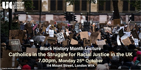 Catholics in the Struggle for Racial Justice in the UK (1970-2021) tickets