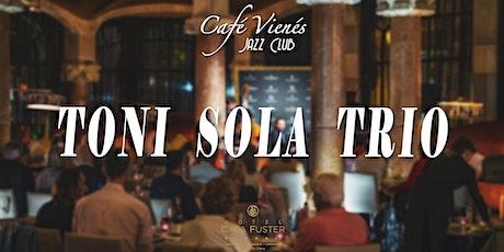 Jazz en directo: TONI SOLA TRIO entradas