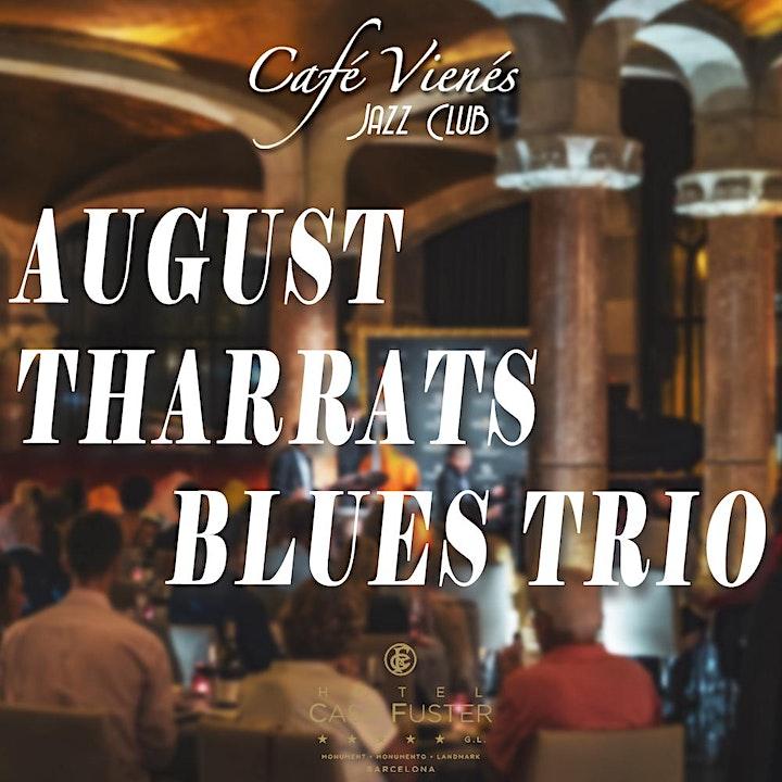 Imagen de Jazz en directo: AUGUST THARRATS BLUES TRIO