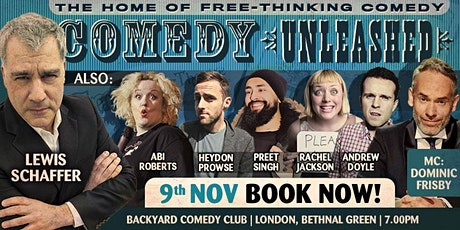 Lewis Shaffer at Comedy Unleashed tickets