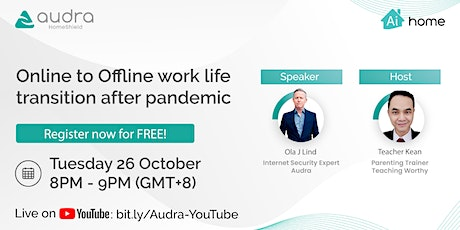 Online to Offline work life transition after pandemic boletos