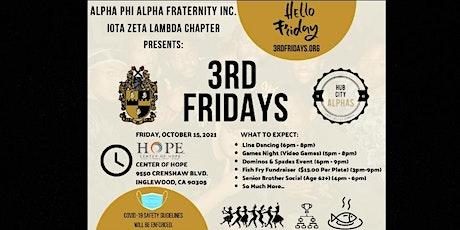 3rd Fridays (Alpha Caring & Empowerment) tickets