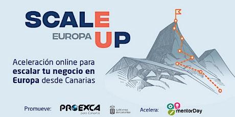 Presentación del Programa ScaleUp Europa (II Edición) entradas