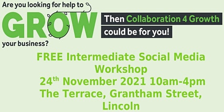 Free Intermediate Social Media Workshop tickets