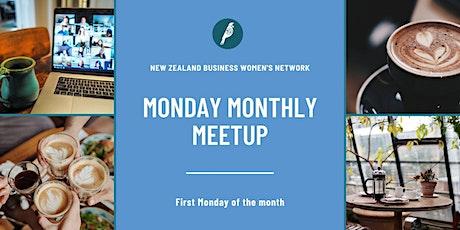 NZBWN Monday Monthly Meet-Up - November (online) tickets