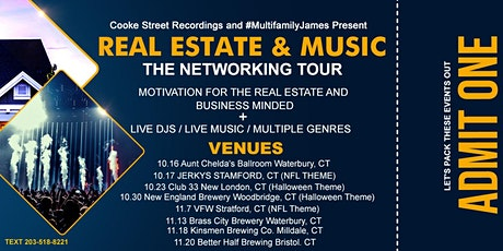 Real Estate & Music: The Ultimate Networking Event / Halloween Edition tickets