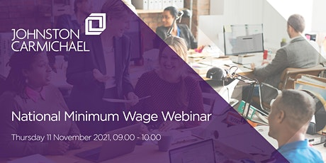 National Minimum Wage Webinar tickets