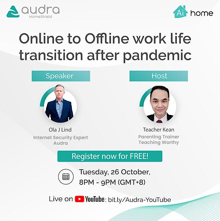 Online to Offline work life transition after pandemic image