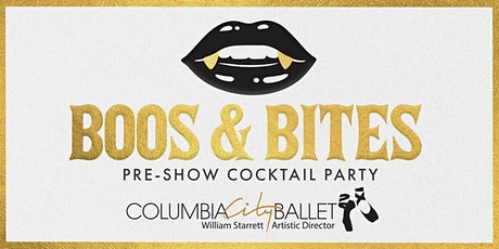 Boos & Bites, Pre-show Cocktail Party tickets