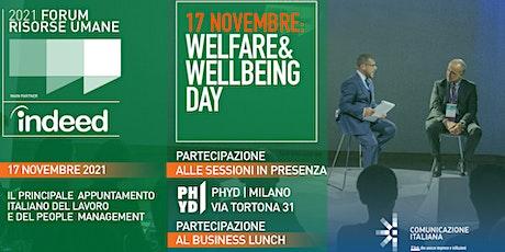 Welfare & Wellbeing Day - FORUM RISORSE UMANE 2021 biglietti