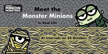 Meet Monster Minions at The Whitgift, Croydon! tickets