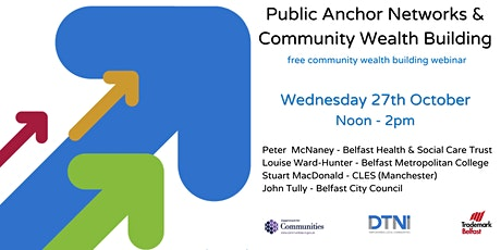 Public Anchor Networks & Community Wealth Building tickets