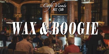 Jazz en directo: WAX & BOOGIE entradas