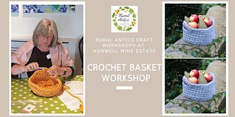 Crochet Basket Workshop tickets