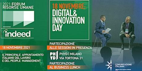 Digital & Innovation Day - FORUM RISORSE UMANE 2021 biglietti