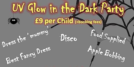 Children Halloween UV Glow in the Dark Party tickets