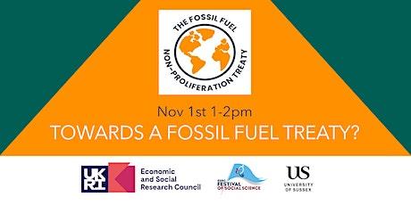Towards a fossil fuel treaty? tickets