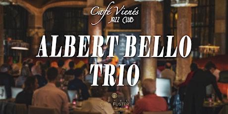 Jazz en directo: ALBERT BELLO TRIO entradas