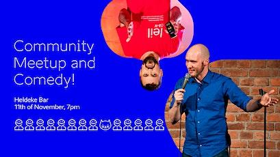 e-Residency Community Meetup & Comedy tickets