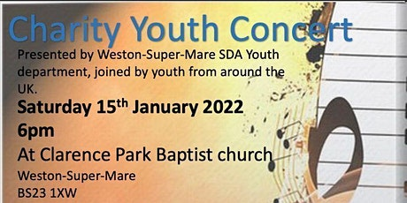 Christian charity youth concert tickets