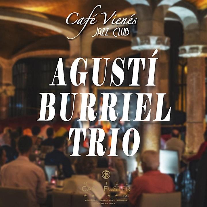 Imagen de Jazz en directo: AGUSTÍ BURRIEL TRIO