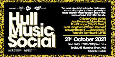 Hull Music Social tickets