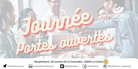 Portes ouvertes & découverte du coworking Morphoburo La Ciotat billets