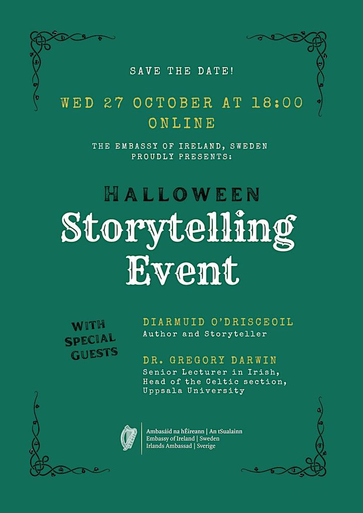 Halloween Storytelling Event image