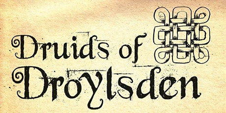 Druids of Droylsden (D.O.D)  and the Big Boggart Book tickets