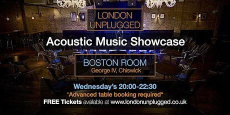 London Unplugged SHOWCASE 20.10.2021 tickets