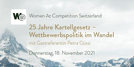 25 years of Swiss Cartel Act - Competition policy in transition biglietti