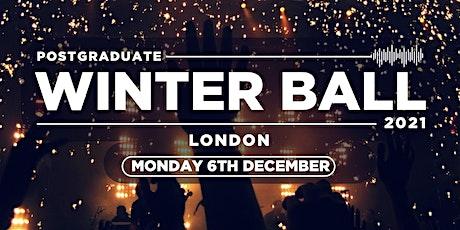 The Postgraduate Winter Ball / 2021 tickets