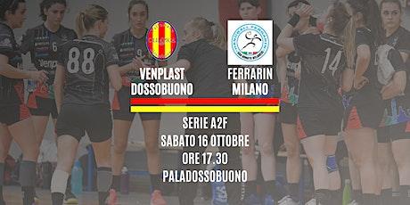 Serie A2F | Venplast Dossobuono - Ferrarin biglietti