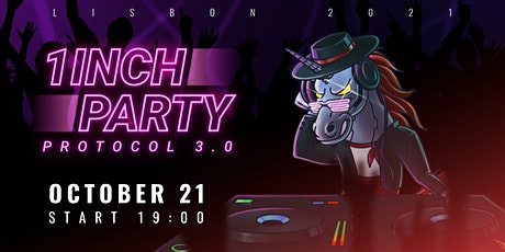 1inch Party Protocol 3.0 bilhetes