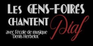 Concert Solidaire - 100 ans de Piaf