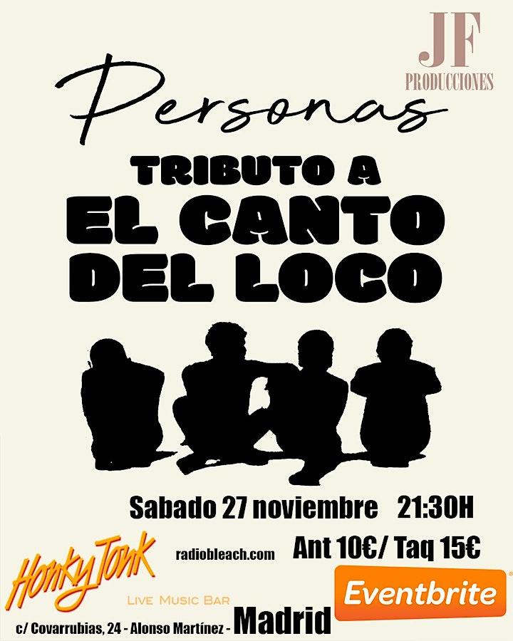 Imagen de EL GRAN TRIBUTO AL CANTO DEL LOCO EN MADRID - PERSONAS -