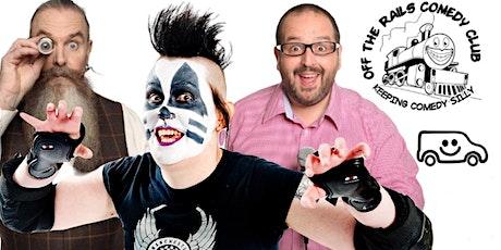 Off The Rails Comedy Club, Saddleworth tickets