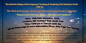 Women Economic, Social and Spiritual Empowerment...