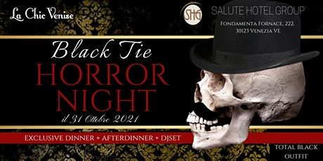 Black Tie-Horror Night biglietti