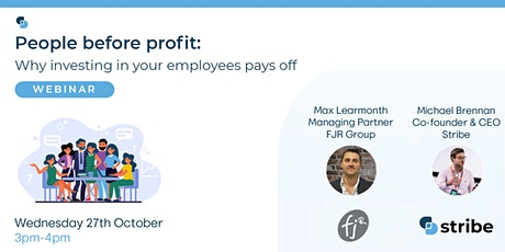 People before profit:  Why investing in your employees pays off tickets