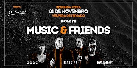 MUSIC & FRIENDS - EDIÇÃO ESPECIAL AIR ROOFTOP ingressos