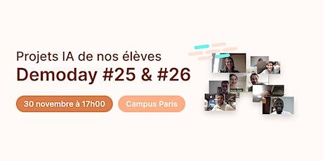 Data Demoday #25 & #26 - Jedha Bootcamp billets