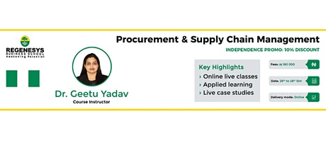 60% Independence Discount on  and Supply Chain Management Course!! tickets